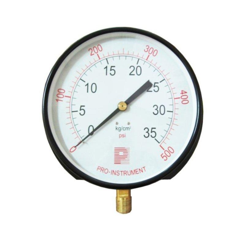 8 inch, 10 inch or 12 inch big boiler pressure gauge for steam ...