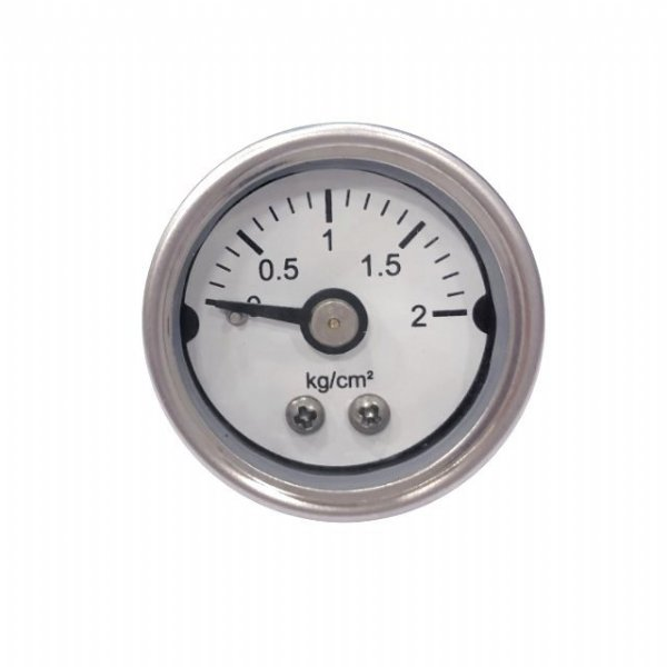 30mm stainless steel gauge